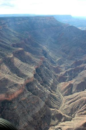 Scenic Airlines: Sure beats the helicopter as the plane goes all the way to the South Rim