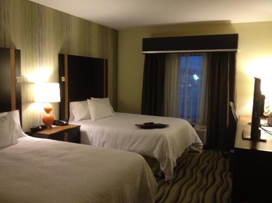 Hampton Inn Knoxville/Clinton I-75: Double queen room