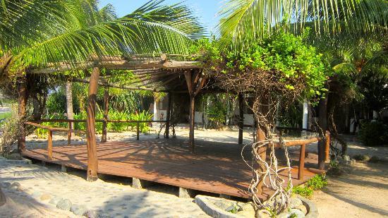 Hacienda Eden: Yoga platform