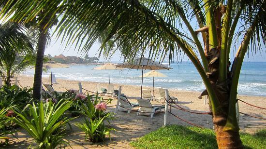 Hacienda Eden: Beach area 