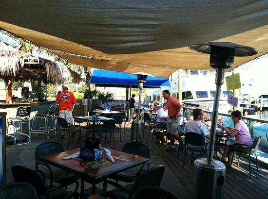 Manatee Island Bar U0026 Grill: Tiki Bar And Outside Dining Part 96