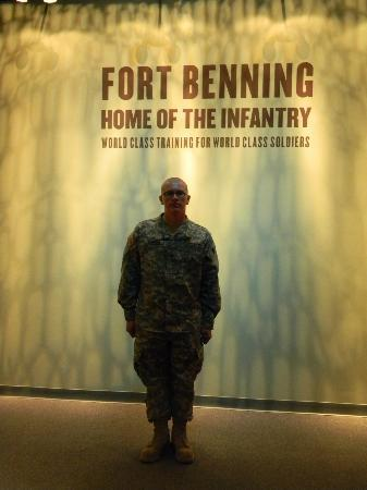 National Infantry Museum and Soldier Center: My son under the saying