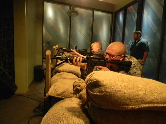 National Infantry Museum and Soldier Center: The artillary rifle range was great!