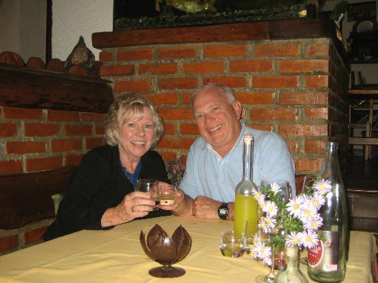 B&B Ca' Noeva: full course dinner at Moreno's restaurant