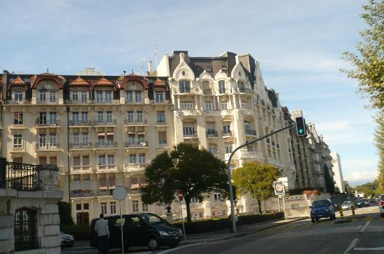 Four Seasons Hotel des Bergues Geneva: centro