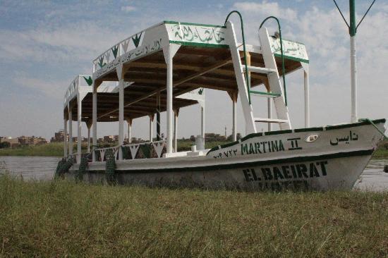 Al Baeirat Hotel: Shuttleboot