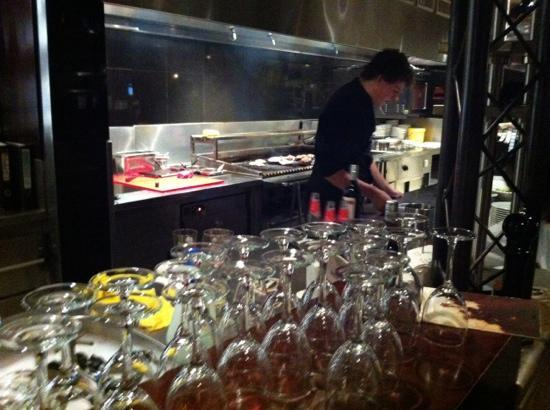 Gauchos - Eindhoven : open kitchen with grill