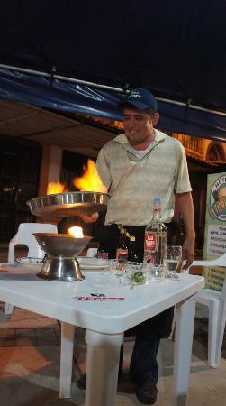 Quique's Place: making Lalo's shrimp