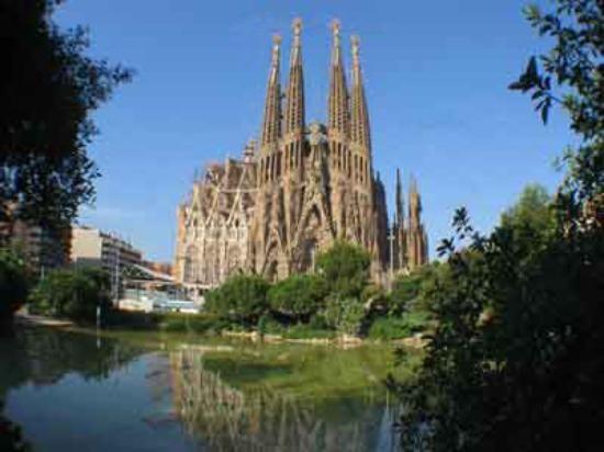 Hotel Constanza Barcelona: Catedral da SagradA FAMÍLIA