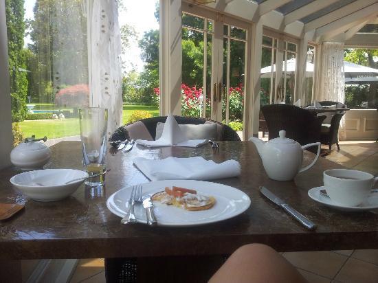 Mangapapa Hotel: Conservatory - Breakfast