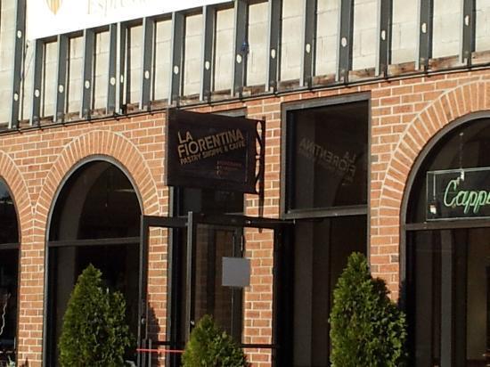La Fiorentina Pastry Shop: Exterior entrance