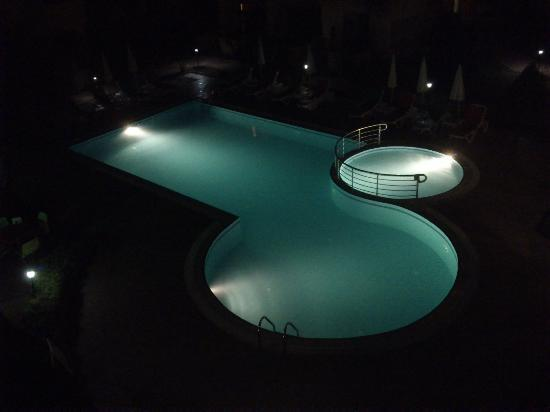 Hotel Summer Rose : Pool at night