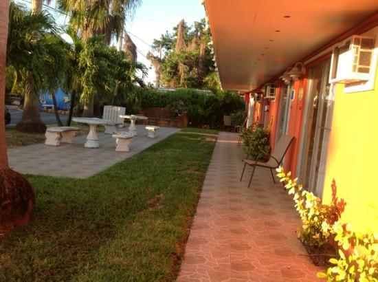 Sea Dell Motel: Courtyard