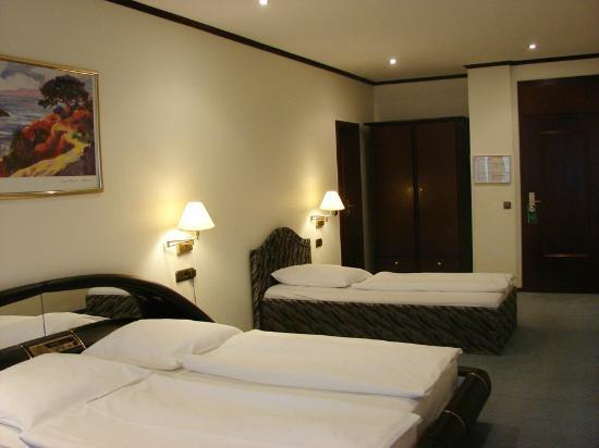 Panorama Am Adenauerplatz Hotel: Standard Room sleeps 3
