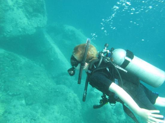 CSI: SAMUI Dive School : Sail Rock - first open water dive for ten year old
