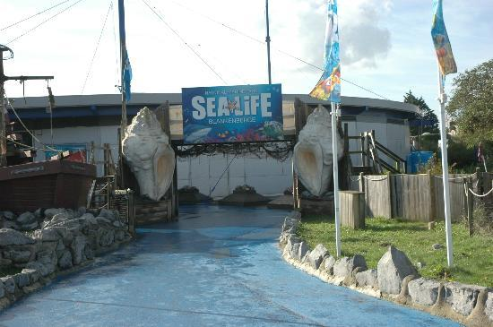 Sea Life Blankenberge entrance