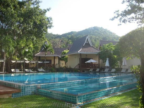 Phi Phi Villa Resort: our poolside villa, which was great for the pool....