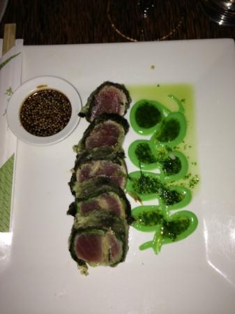 Zaza's: Dé aanrader om mee te starten; tempura van tonijn