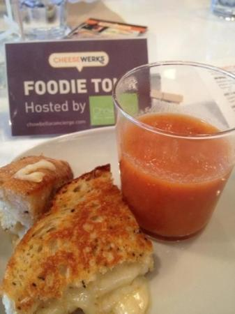 Chowbella Taste & Travel: homemade tomato soup with amazing grilled cheese