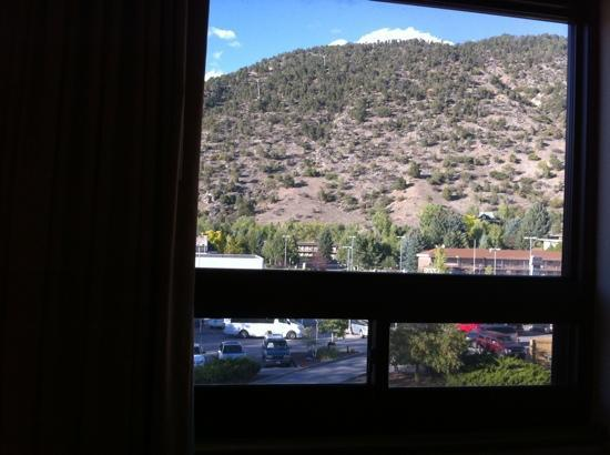 Ramada Glenwood Springs: view from room
