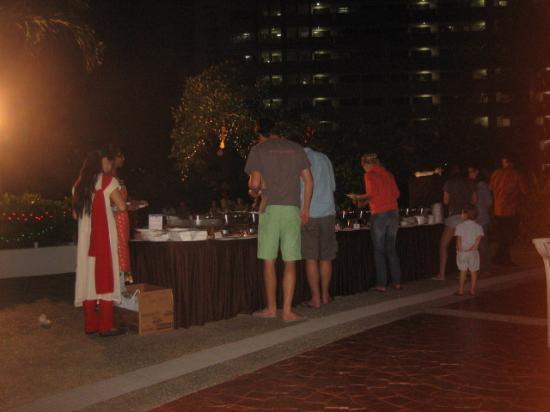 Village Residence Hougang by Far East Hospitality: Deepavali buffet by the pool