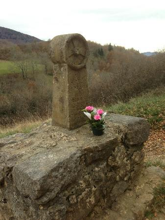 Chateau de Montsegur: The monument..