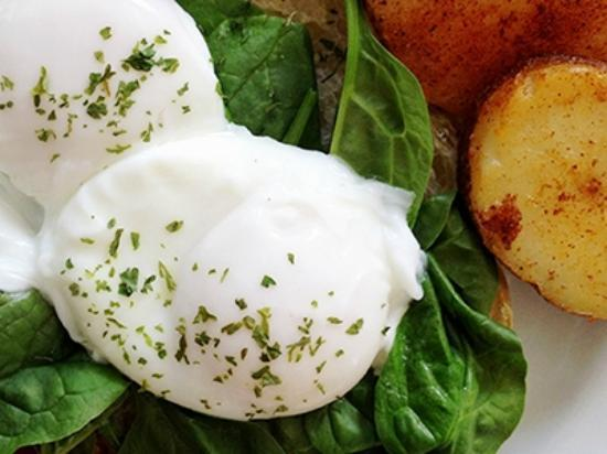 The Blue Spruce B&B: Perfect poached eggs