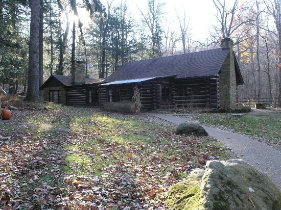 Malabar Farm State Park: The Pugh Cabin (first scene in The Shawshank Redemption)