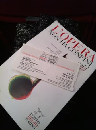 Teatro Regio di Torino : la Carmen