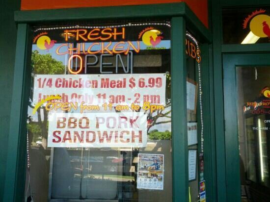 Mama's Rib's & Rotisserie: killah BBQ brah...