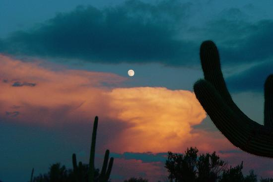 Get the moon and the sun at Hacienda Linda!!