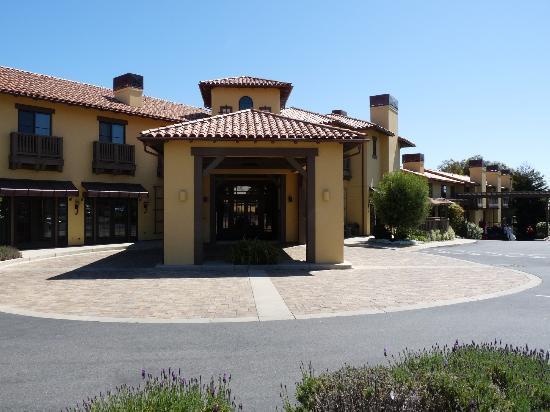 Hotel Abrego: exterieur