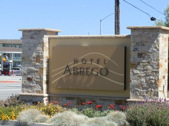 Hotel Abrego: pancarte