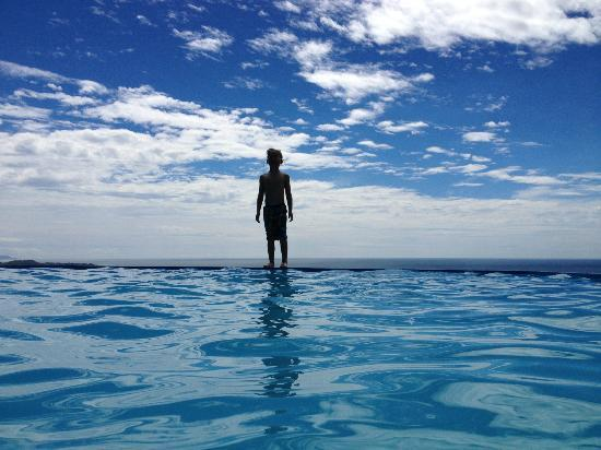 Playa San Miguel, Costa Rica: The infinity pool