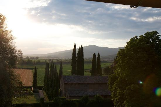 Villa di Piazzano: View from our window