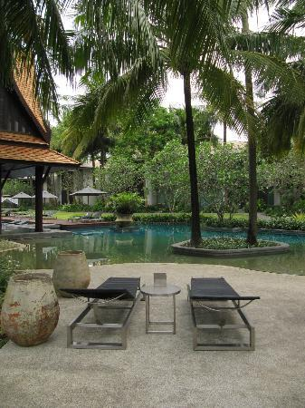 Twinpalms Phuket: View in front of guest room 54
