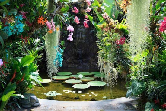 Giardini La Mortella : la bocca