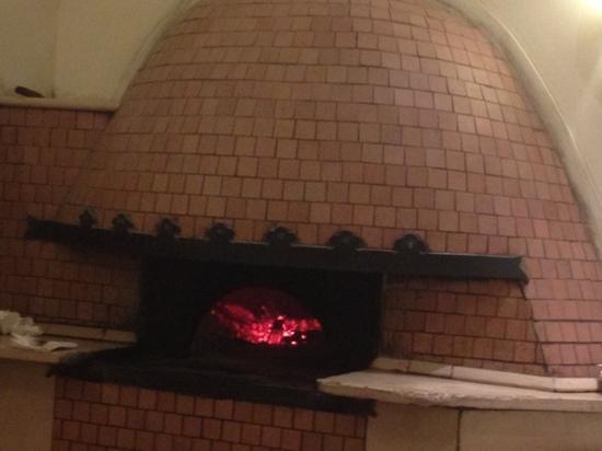 Re Brasserie : il forno a legna