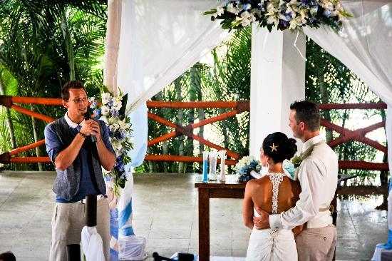 Marival Residences Luxury Resort: Weddind ceremony