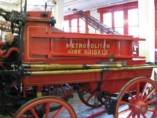 The London Fire Brigade Museum: Old Metroplitan Appliance