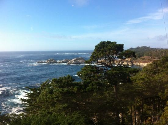 Hyatt Carmel Highlands: view from the 'market' restaurant