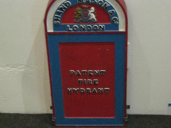 The London Fire Brigade Museum: Hydrant cover