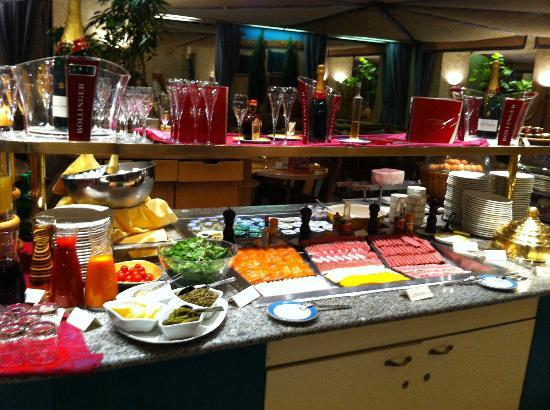 Le Royal Hotels & Resorts - Luxembourg: Breakfast Buffet