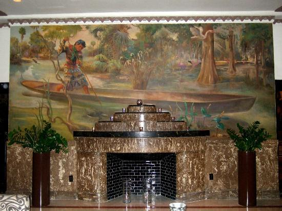 Essex House: art deco fireplace
