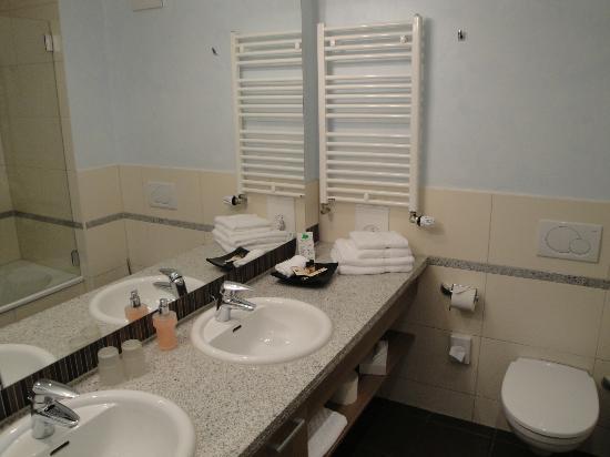 Hotel Seeblick: Bathroom #22