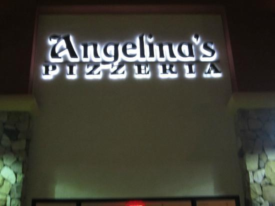 Angelina's Pizzeria: Frontage outside at the Monarch Bay Plaza, Dana Point