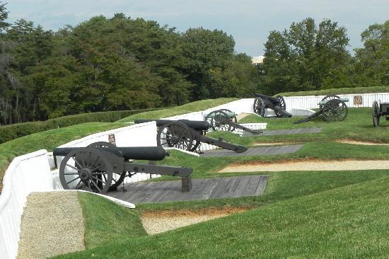 Alexandria, VA: View of the battery