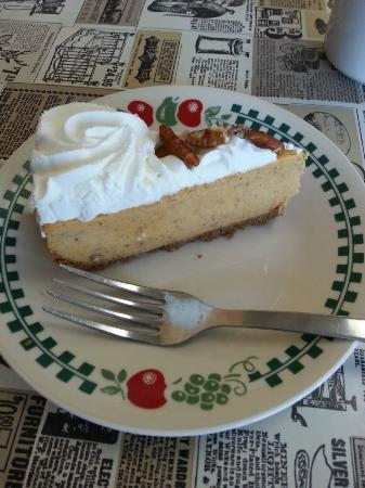 Itty Bitty: Pumpkin Cheesecake, a splendid dessert