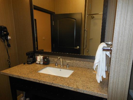 Holiday Inn Arlington: Tall sink and counter