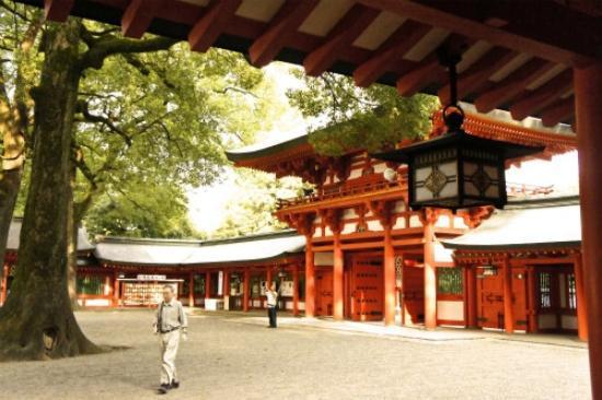 Saitama Prefecture Omiya Park: 氷川神社境内